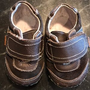 Used Boys 12-18M Leather Pediped